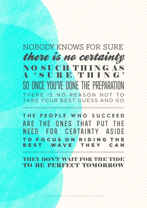 Nobody knows for sure, don't wait