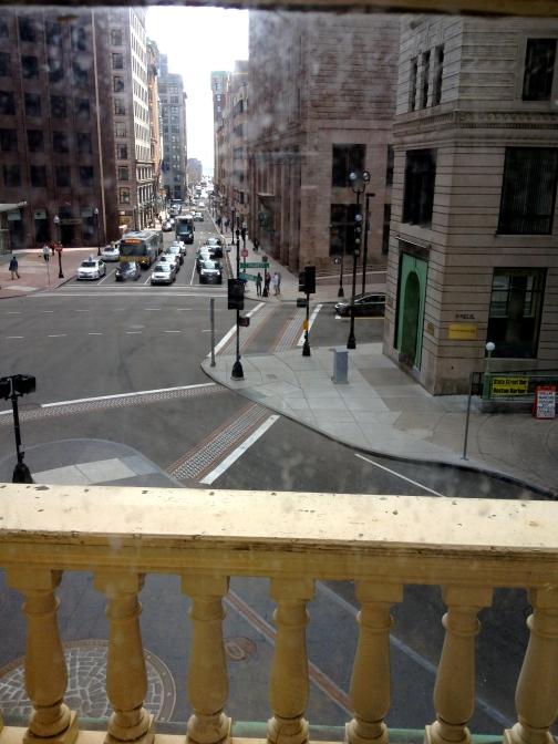 Old State House Balcony