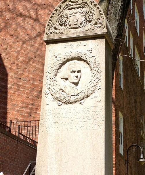 Memorial for John Hancock
