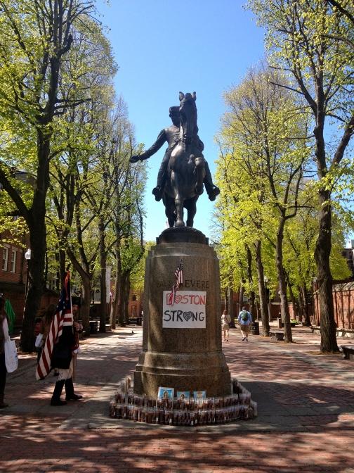 Paul Revere's Midnight Ride Monument