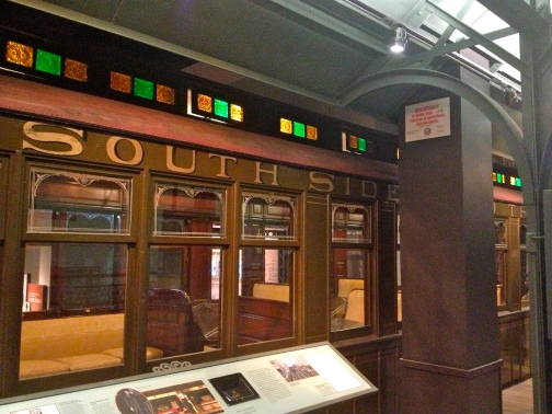 "Old south side ""L"" train"