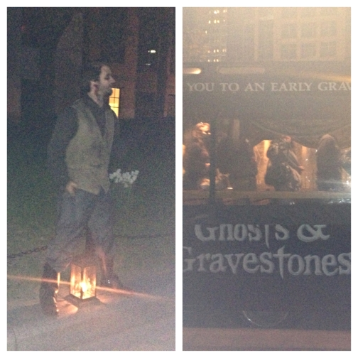Ghost and Gravestones Tour