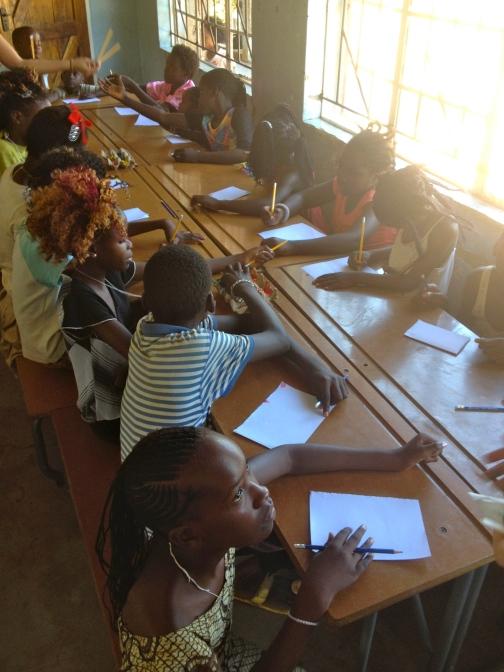 Writing at Zambezi