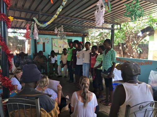 Carols at the Maramba Old Peoples Home