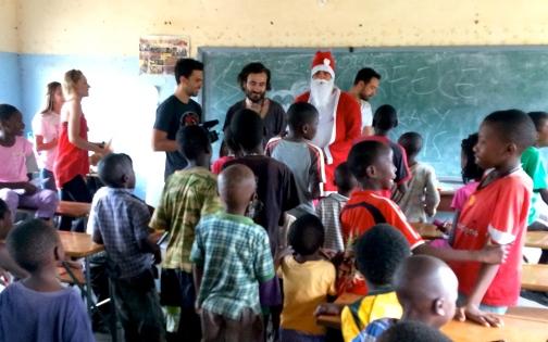 Santa at Holiday Club