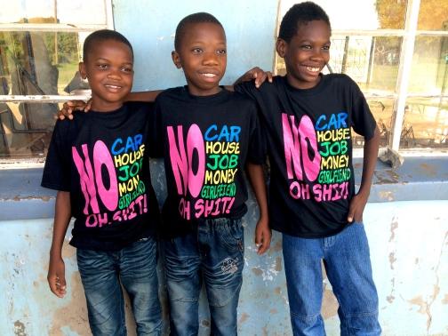 Boys at Zambezi