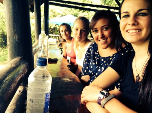 Lunch at Victoria Falls