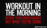 Morning Workout